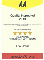 AA Inspected Gold Award